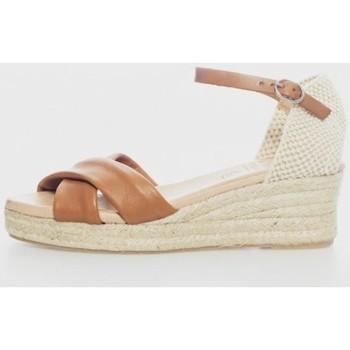 Zapatos Mujer Sandalias Cokketta 391D Marrón