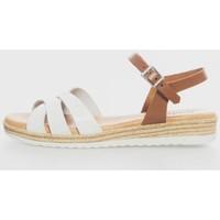 Zapatos Mujer Sandalias Kamome 4832 Blanco