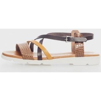 Zapatos Mujer Sandalias Kamome 4812 Marrón