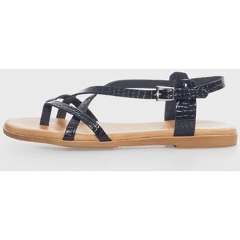 Zapatos Mujer Sandalias Kamome 4802 Noir