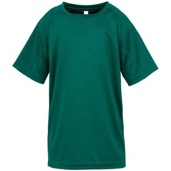 textil Niño Camisetas manga corta Spiro S287J Verde