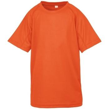 textil Niño Camisetas manga corta Spiro S287J Naranja