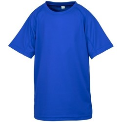 textil Niño Camisetas manga corta Spiro S287J Azul