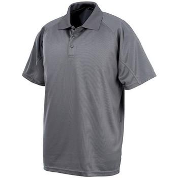 textil Hombre Polos manga corta Spiro S288X Gris