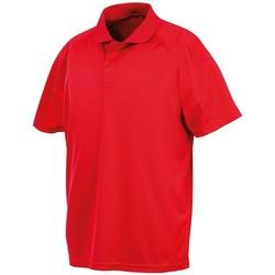 textil Hombre Polos manga corta Spiro S288X Rojo