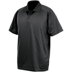 textil Hombre Polos manga corta Spiro S288X Negro