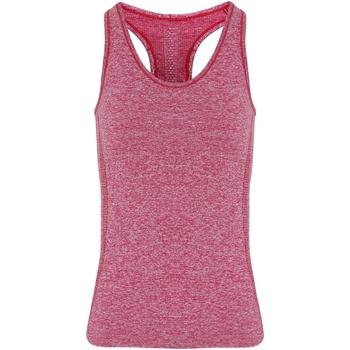 textil Mujer Camisetas sin mangas Tridri TR209 Multicolor