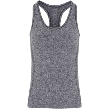 textil Mujer Camisetas sin mangas Tridri TR209 Gris