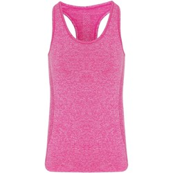 textil Mujer Camisetas sin mangas Tridri TR209 Rojo