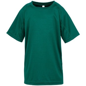 textil Niños Camisetas manga corta Spiro SR287B Verde botella