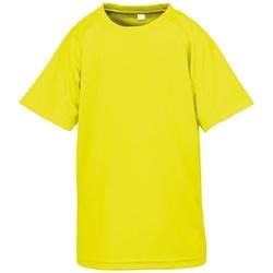 textil Niños Camisetas manga corta Spiro SR287B Amarillo
