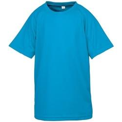 textil Niños Camisetas manga corta Spiro SR287B Azul océano