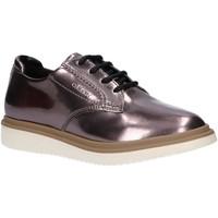 Zapatos Niños Derbie & Richelieu Geox J744FB 000BN J THYMAR Plateado