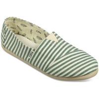 Zapatos Mujer Alpargatas Paez Gum Original Classic W Green Beige Verde
