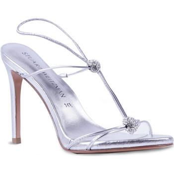 Zapatos Mujer Sandalias Stuart Weitzman VL09249 argento
