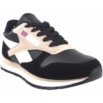 Zapatos Mujer Zapatillas bajas Bienve Zapato señora  abx080 negro Rosa