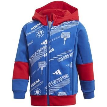 textil Niño Sudaderas adidas Originals  Azul