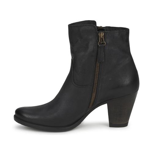In Botines Dream Green Zapatos Haydar Negro Mujer jLA5R34