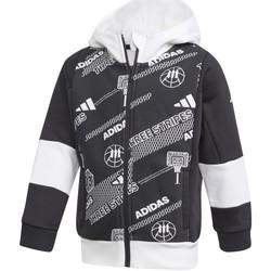 textil Niño Chaquetas de deporte adidas Originals  Negro