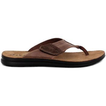 Zapatos Hombre Chanclas Fly Flot 94151 marrón