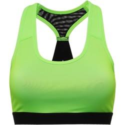 textil Mujer Sujetador deportivo  Tridri TR920 Verde