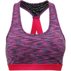 textil Mujer Sujetador deportivo  Tridri TR920 Rojo