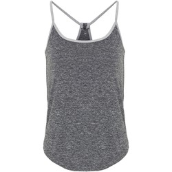 textil Mujer Camisetas sin mangas Tridri TR043 Negro