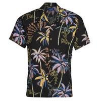 textil Hombre Camisas manga corta Jack & Jones JORTROPICANA Multicolor