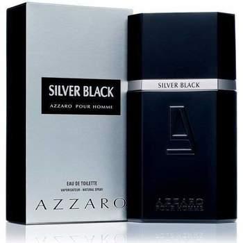 Belleza Hombre Perfume Azzaro Silver Black - Eau de Toilette - 100ml - Vaporizador Silver Black - cologne - 100ml - spray