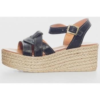 Zapatos Mujer Sandalias Kamome R-335-5-Z Noir