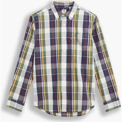 textil Hombre Camisas manga larga Levi's Strauss CAMISA CLASSIC 1 PKT STANDARD LEVIS HOMBRE