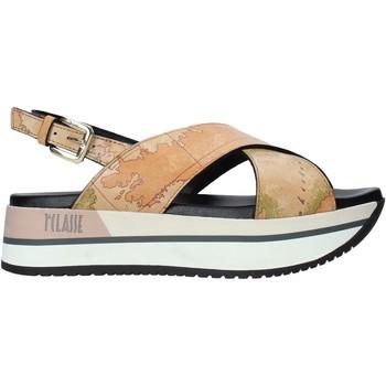 Zapatos Mujer Sandalias Alviero Martini E109 8391 Marrón