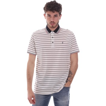textil Hombre Polos manga corta Navigare NV70034 Blanco