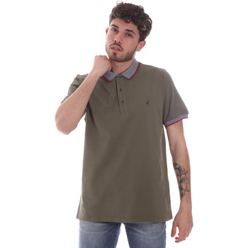 textil Hombre Polos manga corta Navigare NV82125 Verde