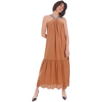 textil Mujer Vestidos largos Gaudi 111FD15012 Marrón
