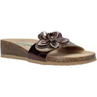 Zapatos Mujer Zuecos (Mules) Bionatura 12AMB21-I-MITBA1 Marrón