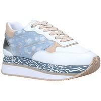 Zapatos Mujer Zapatillas bajas Manila Grace S659LM Blanco