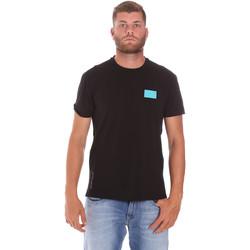 textil Hombre Camisetas manga corta Ea7 Emporio Armani 3KPT50 PJAMZ Negro