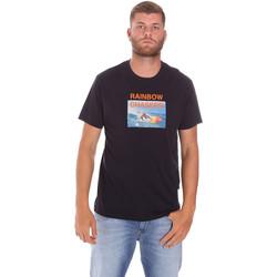 textil Hombre Camisetas manga corta Sundek M047TEJ7800 Negro