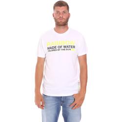 textil Hombre Camisetas manga corta Sundek M058TEJ7800 Blanco