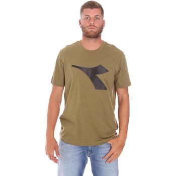 textil Hombre Camisetas manga corta Diadora 102175852 Verde