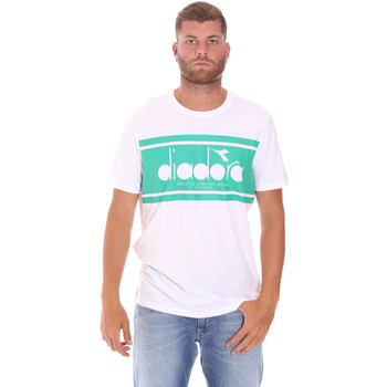 textil Hombre Camisetas manga corta Diadora 502176632 Blanco
