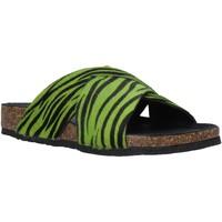 Zapatos Mujer Zuecos (Mules) Bionatura 10A2118-I-CAVERN Verde