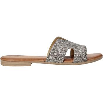 Zapatos Mujer Zuecos (Mules) Dorea MH103 Gris