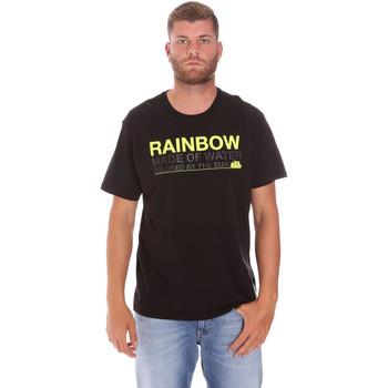 textil Hombre Camisetas manga corta Sundek M058TEJ7800 Negro