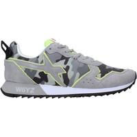 Zapatos Hombre Zapatillas bajas W6yz 2013560 02 Gris