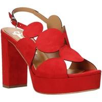 Zapatos Mujer Sandalias Grace Shoes 492PL010 Rojo