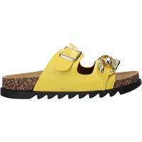 Zapatos Mujer Zuecos (Mules) Gold&gold A21 FL160 Amarillo