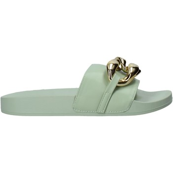 Zapatos Mujer Zuecos (Mules) Gold&gold A21 FL162 Verde