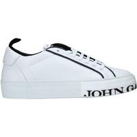 Zapatos Hombre Zapatillas bajas John Galliano 11012/CP C Blanco